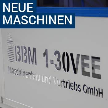 Neue Maschinen Blau