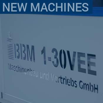 bbm new Maschinen